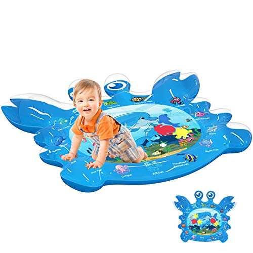 Purchase EPN Tummy Time Baby Water Play Mat Toys for 3 6 9 Months Newborn Infant&Toddlers, Inflatabl...