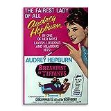 originaloops Cuadro Lienzo Poster película Desayuno con Diamantes (75x50)