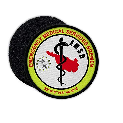 Patch EMSB Rescue Service Brema Paramedico Hanseatic City Weser Service # 33053
