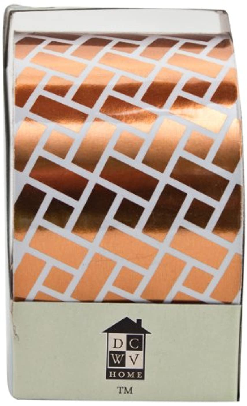 Die Cuts With A View Home Craft Trim 2 Natural Brick Pattern, CPR, 157-inches by 2-inches Foil Roll