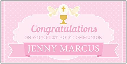 Best personalised first holy communion banners Reviews