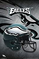 "Trends International Philadelphia Eagles-Helmet Premium Wall Poster, 22.375"" x 34"""
