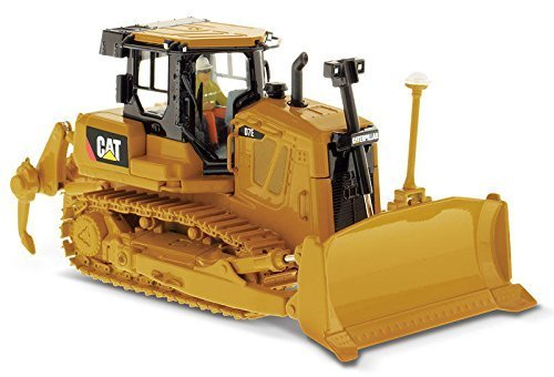 Caterpillar CAT D7E Track Type Tractor with Electric Drive with Operator High Line Series 1/50 by Diecast Masters 85224