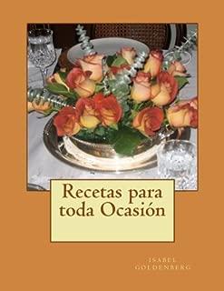 Recetas para toda Ocasion (Spanish Edition)