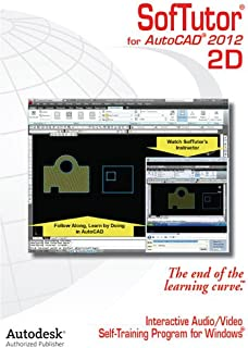 SofTutor for AutoCAD 2D (for version 2012) Tutorials - Easiest & Fastest way to learn AutoCAD guaranteed!