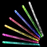 JXE JXO HD Bright LED Light Up Drum Sticks 7 Color Changing, 3 Flashing Mode, Durable Professional...