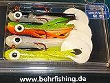 Behr Trendex Mini-Jigs, Multi-Color, 4 Stück, 6 cm, 2 g