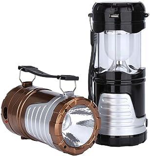 Pulchram IPX6, Impermeable, Repelente de Insectos, para Interiores y Exteriores, Acampada, Senderismo, con bater/ía Recargable de 2000 mAh L/ámpara LED para Mata Insectos y Mosquitos