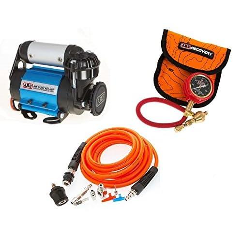 ARB 4X4 Accessories Ultimate Wheeler Pack Hd Air Compressor & Pump Up Kit & E-Z Tire