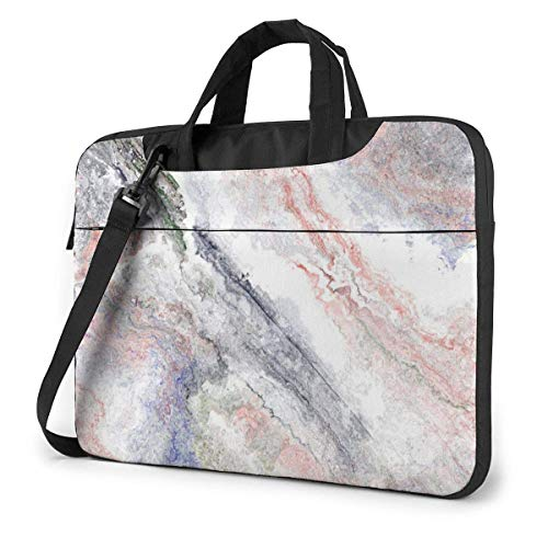 XCNGG Shockproof Laptop Bag Pink Marble Computer Bag Durable Satchel for Unisex Case Sleeve for Computer PC Notebook Tablet 360¡ã Cushion Protective Laptop Briefcase 13' 14' 15.6'