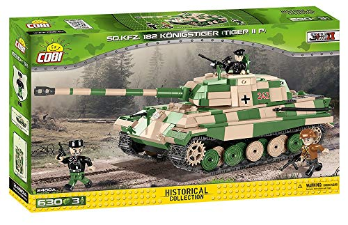 COBI - Tiger II, Tanque, Color Beige (2480)