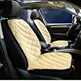 Car Seat Covers Universtal Car Seat Cushion 12V Electric Heating Carbon Pad Fiber Far Infrared Warm Heating...