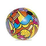 Bestway Wasserball Pop Beach, 91 cm Palla da pallanuoto Colore, BW31044-20