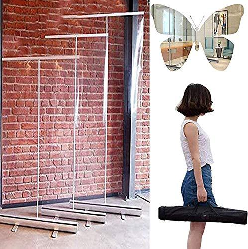 Splash Infection Preventive Rollup Tipo de almacenamiento Vinyl Cortina Banner Stand, pantalla de protección de protección de protección de danza social impermeable, usado para proteger las paredes de