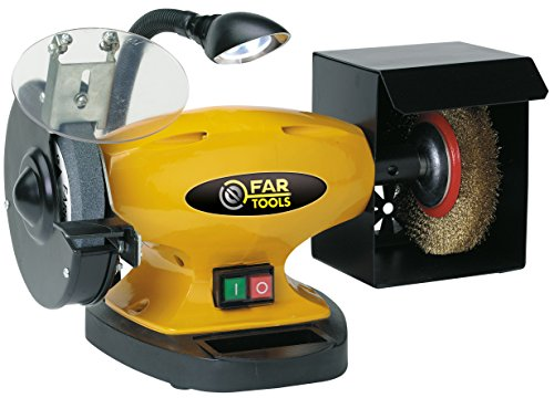 Fartools 110255 ELECTRO AFILADORA 450, W, amarillo, Único
