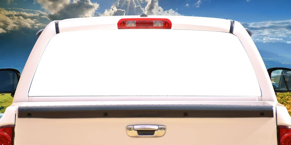 Max 78% OFF SignMission Max 73% OFF WHITERear Window Graphic Back Truck SUV Decal View T