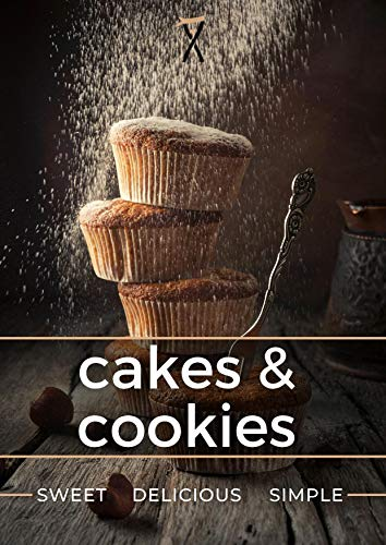 Cakes & cookies: cook book (English Edition)