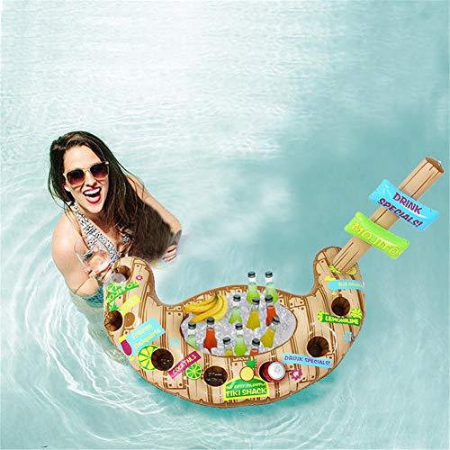 Opblaasbare Drinkhouder, Zwembad Accessoires Ijsemmer Cooler Opblaasbare Float Air Matras Play Drank Voor Volwassenen Feestartikelen
