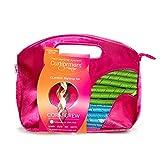Kit Curlformers - 40 bigoudis/2 crochets - boucles serrées - cheveux mi-longs de...