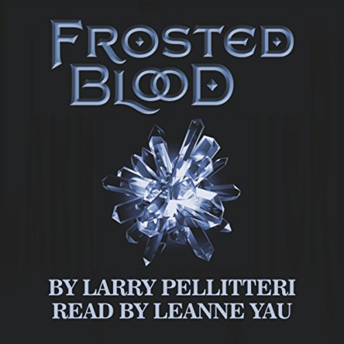 Frosted Blood audiobook cover art
