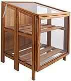 Prodotto a marchio Esschert Design In legno duro di alta qualità Molto stabile Pieghevole Con patta superiore regolabile