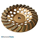 Grinding Wheels for Concrete and Masonry Available from 4 to 7 Inches - 7' Diameter 24 Turbo Diamond Segments 5/8'-11 Arbor
