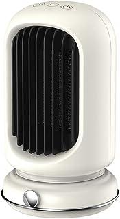 Calefactor De Aire Caliente Portatil Calentador Eléctrico Cerámico PTC 1000w Bajo Consumo Sacude Tu Cabeza De Izquierda A Derecha Sincronización Inteligente 3h para Oficina Baño