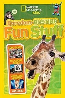 Boredom-Busting Fun Stuff (National Geographic Kids) by National Geographic Kids (June 23, 2015) Paperback