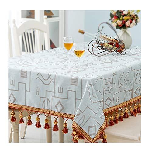 Qiao Jin tafelkleed, Europese plant, bloemenpatroon, tafelkleed, hoogglans polyester, tafelkleed, linnen, afdekking, outdoor, camping, grill, tafelkleden