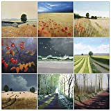 Landscape Art Greeting Card Mult...