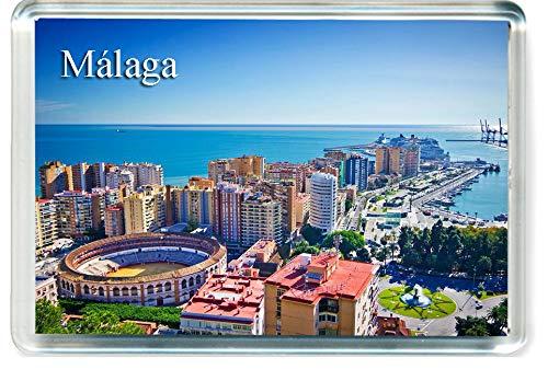 H264 Málaga Imán para Nevera Spain Travel Fridge Magnet