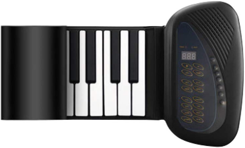 XLLLL Hand Rolle Klavier 88 Tasten Multifunktionale Falten Silikon Tastatur Kinder Erwachsene Anfnger Bequem Elektronische Orgel