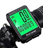 Bike Speedometer Wired Bike Odometer Waterproof Bike Computer Bicycle Computer Backlight with LCD Display mph