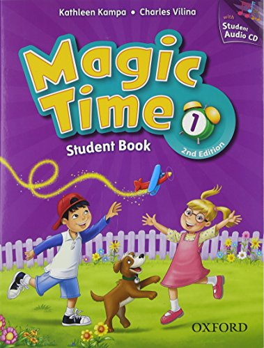Magic Time 1 Student Book & Student CD Pack
