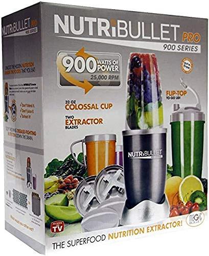 Magic Bullet Nutribullet Pro 900 Blender/Mixer (15 Piece Set)