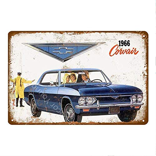 shovv Vintage Auto Touring Bus Metalen Tin Tekenen Pub Bar Thuis Garage Decor Amerikaanse Chevrolet Corvette Vintage Muur Kunst Schilderen Poster