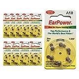 Hörgerätebatterien in der Größe 10 EarPower |...