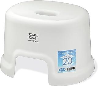 リス風呂椅子H&Hホワイト高さ20cm『防カビ加工』