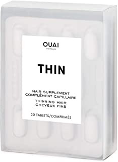 OUAI Hair Supplements for Thinning Hair. Help Restore, Strengthen and Add Shine to Your Hair. Made with Biotin, Silica, As...