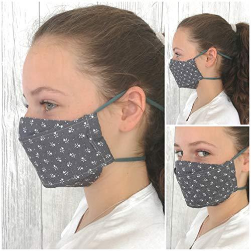 Mund-Nasenbedeckung in verschiedenen Farben für Erwachsene und Teenager
