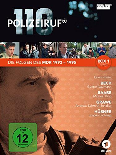 Polizeiruf 110 - MDR-Box 1 (3 DVDs)
