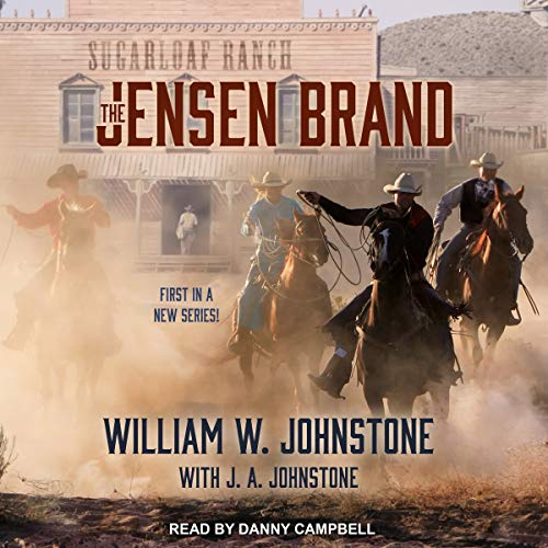 The Jensen Brand audiobook cover art