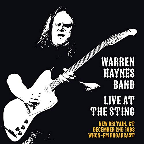 Live At The Sting, New Britain, CT, Dec 2nd 1993, WHCN-FM Broadcast