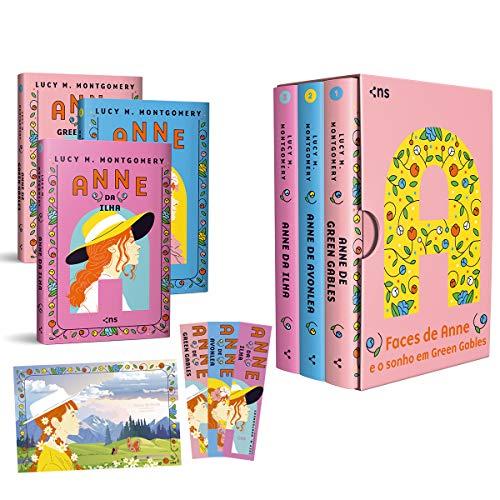 Box Faces de Anne e o sonho em Green Gables - Edição de Luxo + Fitilho + Pôster