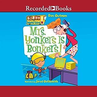 Mrs. Yonkers Is Bonkers! audiobook cover art