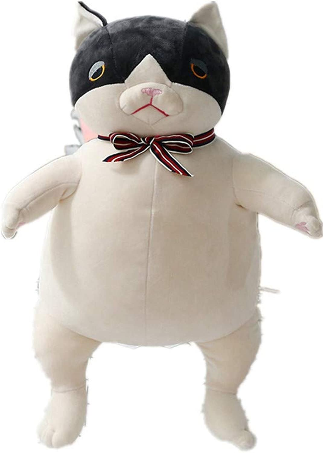 LAIBAERDAN Plush Toy Kung Fu Cat Plush Doll Super Funny Plush Doll Pillow Holiday Birthday Gift 55Cm, 55Cm