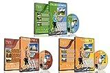 3 Disc Set Kombi Pack - Das Beste aus Italien Virtuelle Walks DVD Box Set für Indoor Walking, Laufband, Elliptical Trainer und Spinning Bike Workouts