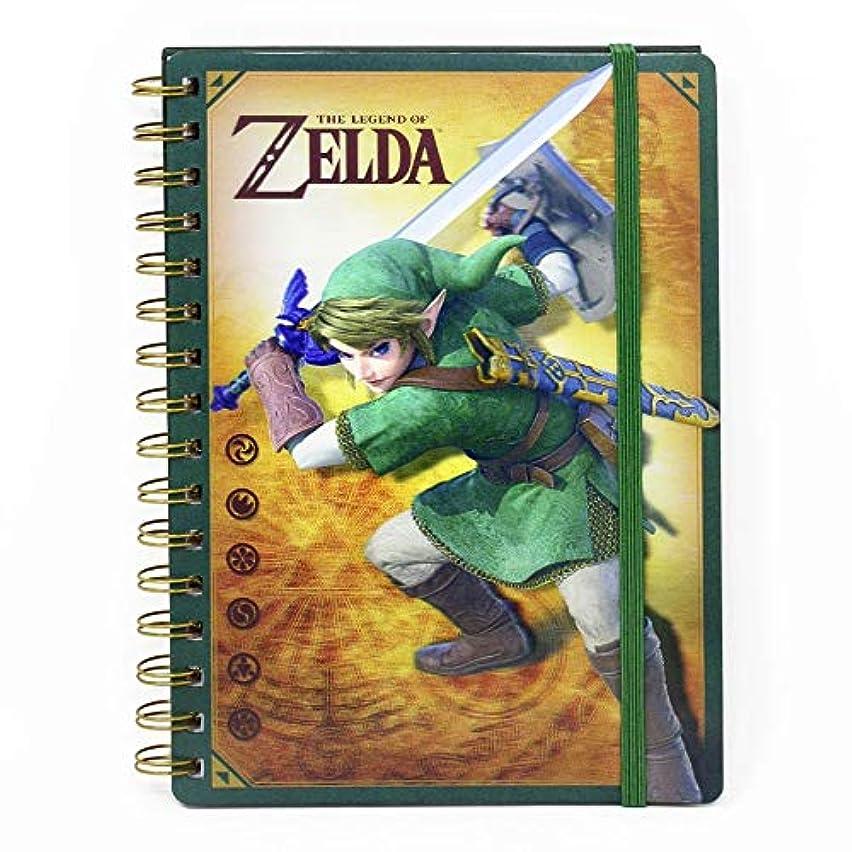 Pyramid International Legend Zelda 3D Wiro Notebook A5 Link Cancelleria