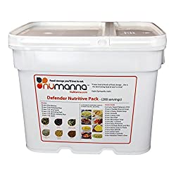 NuManna 204 Meals, Emergency Survival Food Storage Kit, Separate...