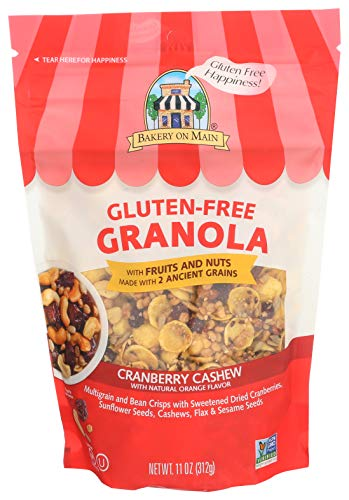 Bakery On Main Granola Gluten Free Orange Cranberry Cashew, 11 oz